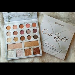 NEVER USED Carli Bybel deluxe edition palette